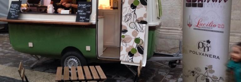 L'escarGO' protagonista di Libando, l'evento di streetfood svoltosi a Foggia dal 4 al 6 aprile scorso