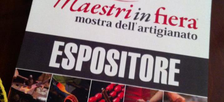 """L'escarGO' e Confartigianto Caserta a  """"Maestri in fiera""""."""